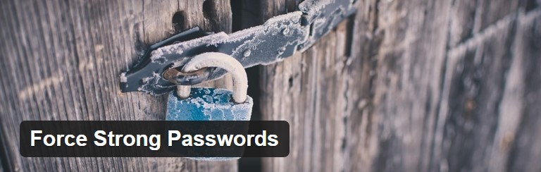 Common WordPress hacks solution: Force Strong Passwords