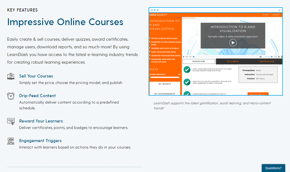 LearnDash - Courses